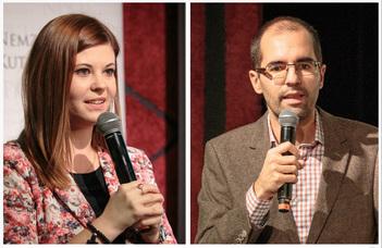 Tátrai Patrik és Kovály Katalin előadása a márciusi MÁSz-szakesten.