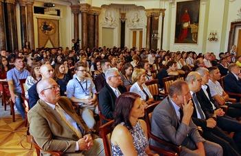 24. ELTE Kárpát-medencei Nyári Egyetem ünnepélyes megnyitója